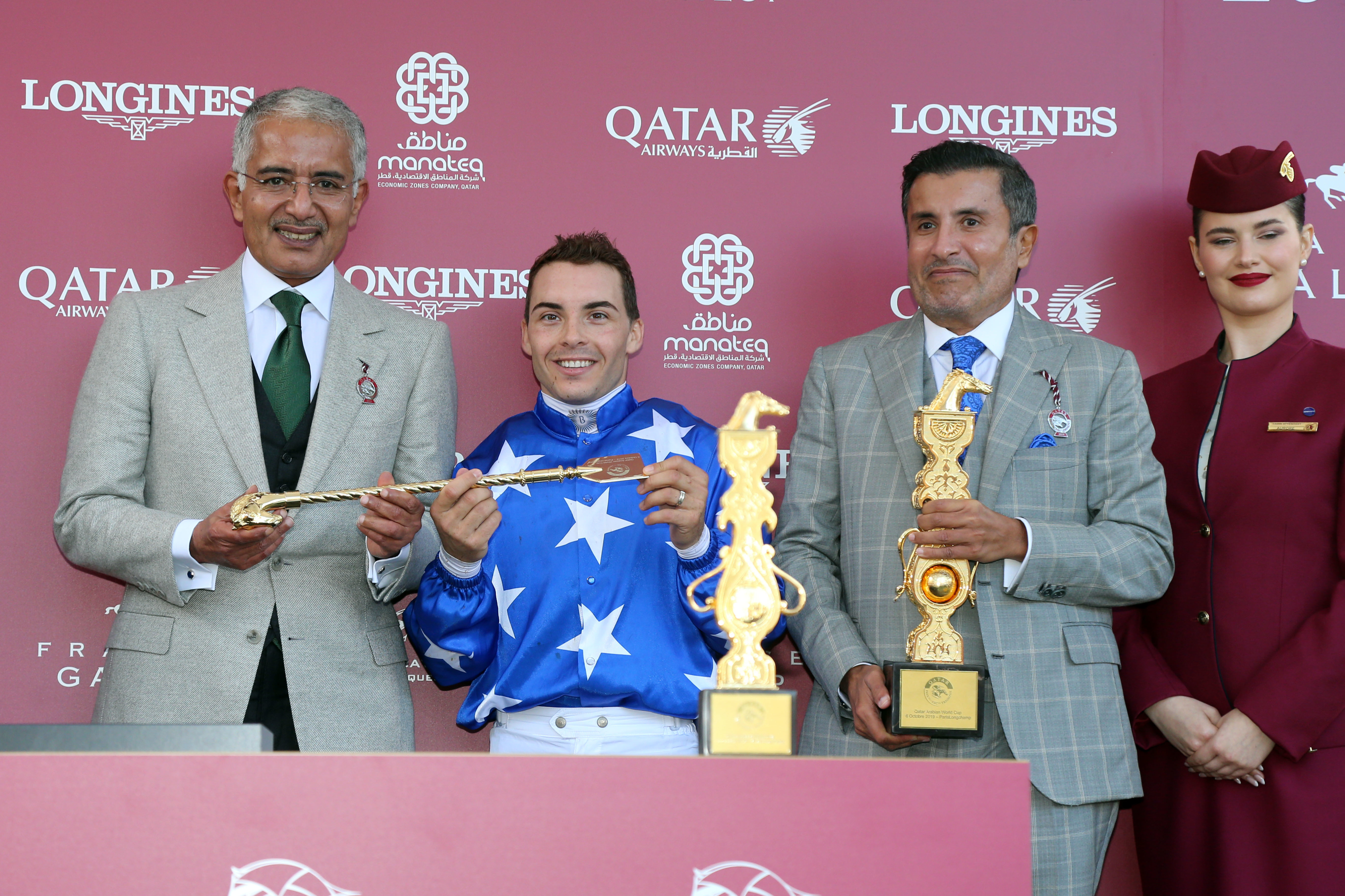 QATAR ARABIAN WORLD CUP - The class of Ebraz speaks loud and clear