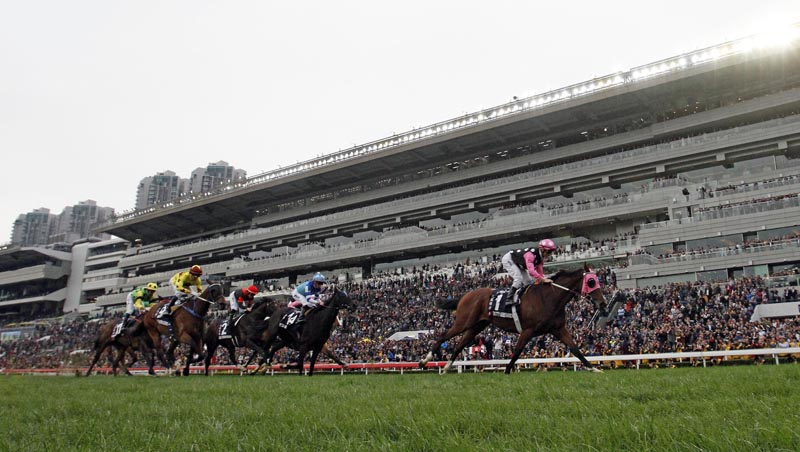 LONGINES HONG KONG MILE (GR1) - Beauty Generation, la solitude du champion