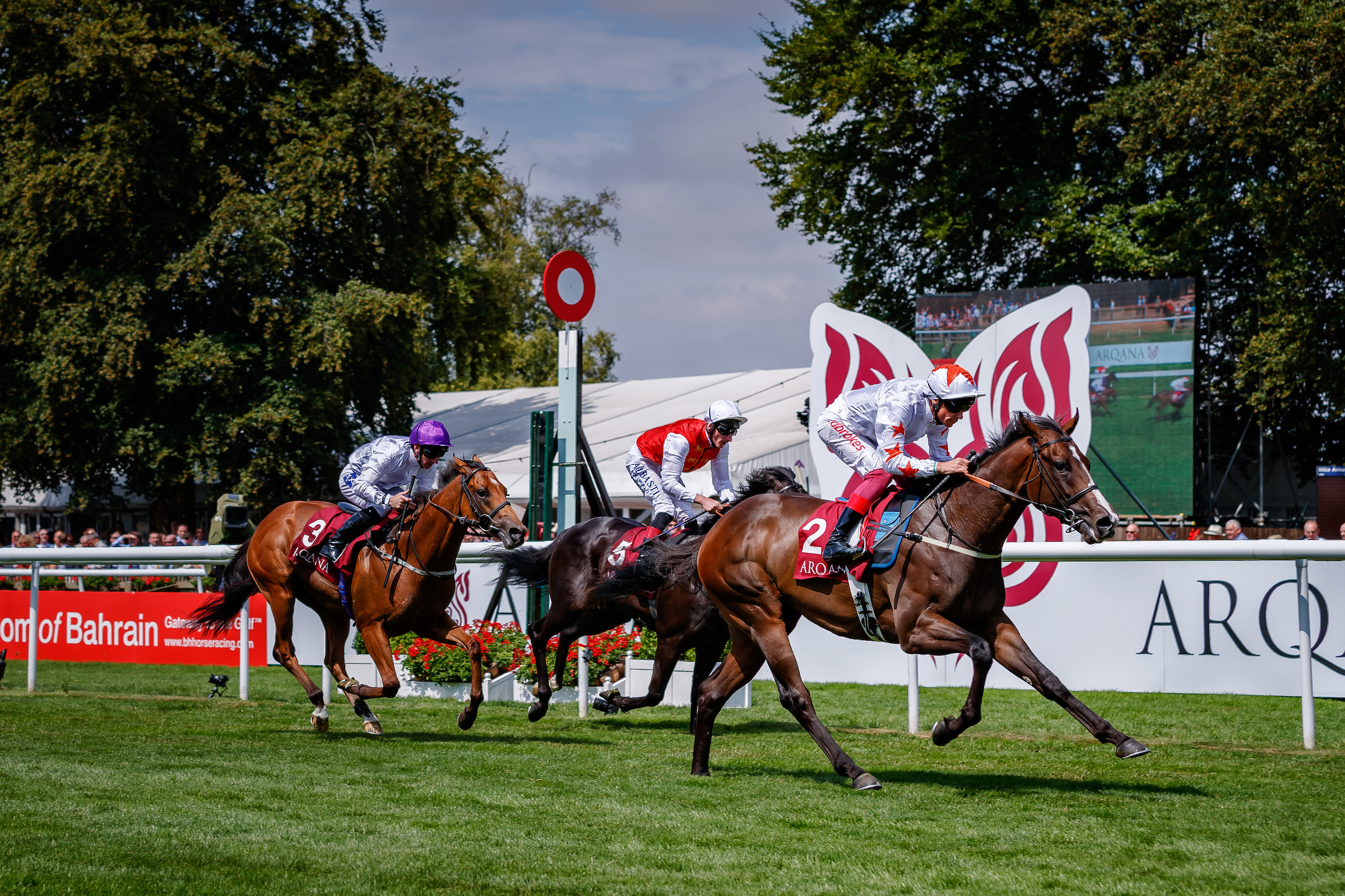 ARQANA JULY STAKES (GR2) - Advertise, le bon achat signé Phoenix