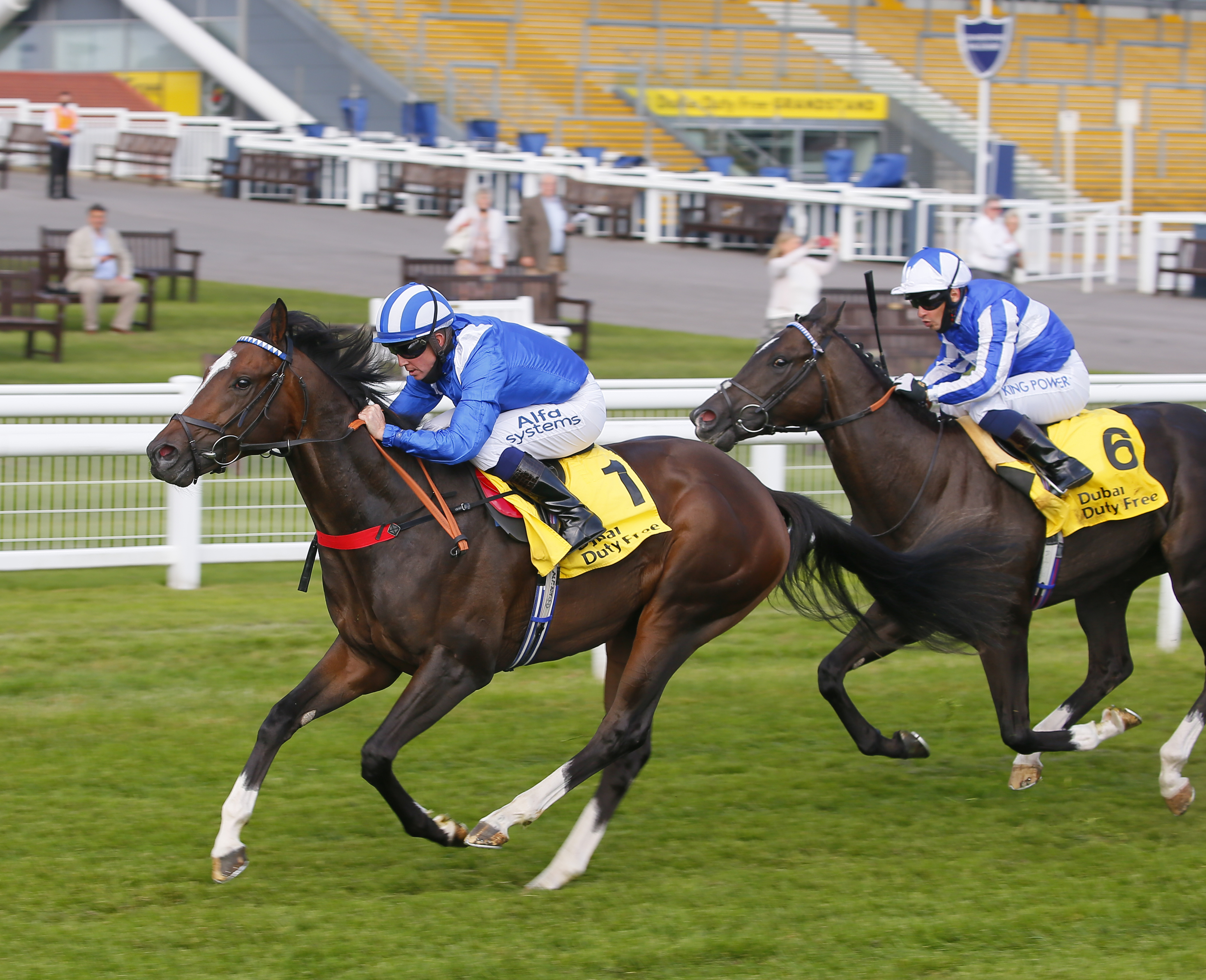Mill Reef Stakes (Gr2) : Alkumait, une consolation pour Markus Tregoning