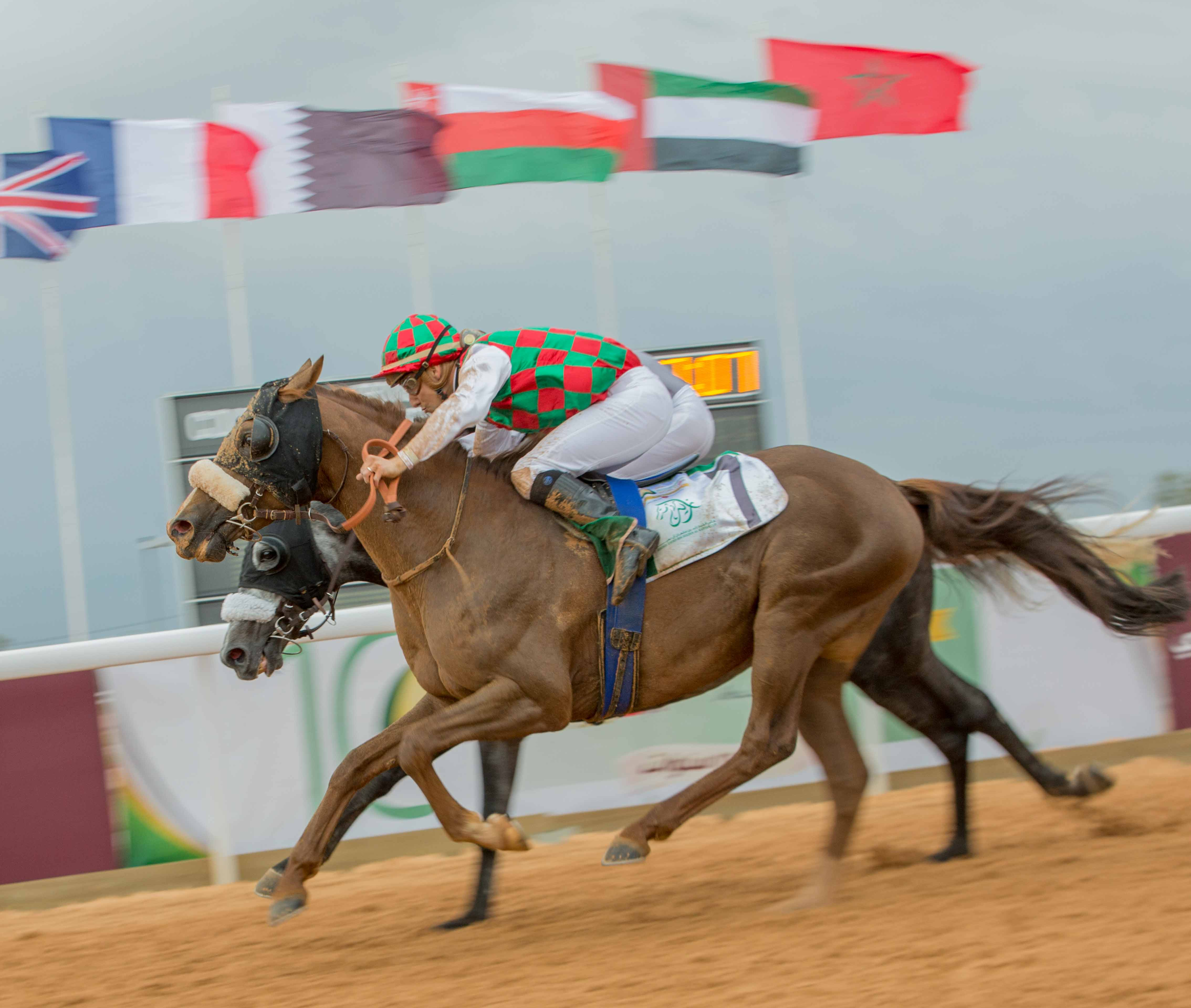 PRESIDENT OF THE UAE CUP - AOUN NOTCHES HIS THIRD BLACK TYPE WIN IN AS MANY COUNTRIES!