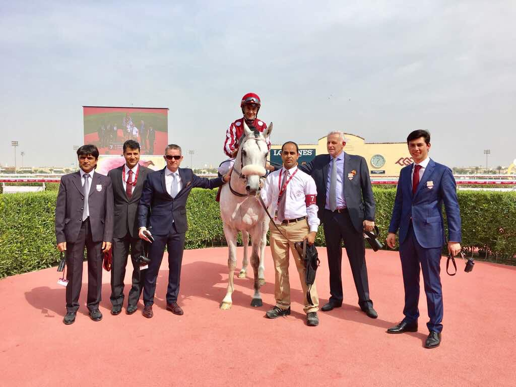 QATAR INTERNATIONAL CUP (Gr1 PA) - TM Thunder Struck tient son Gr1