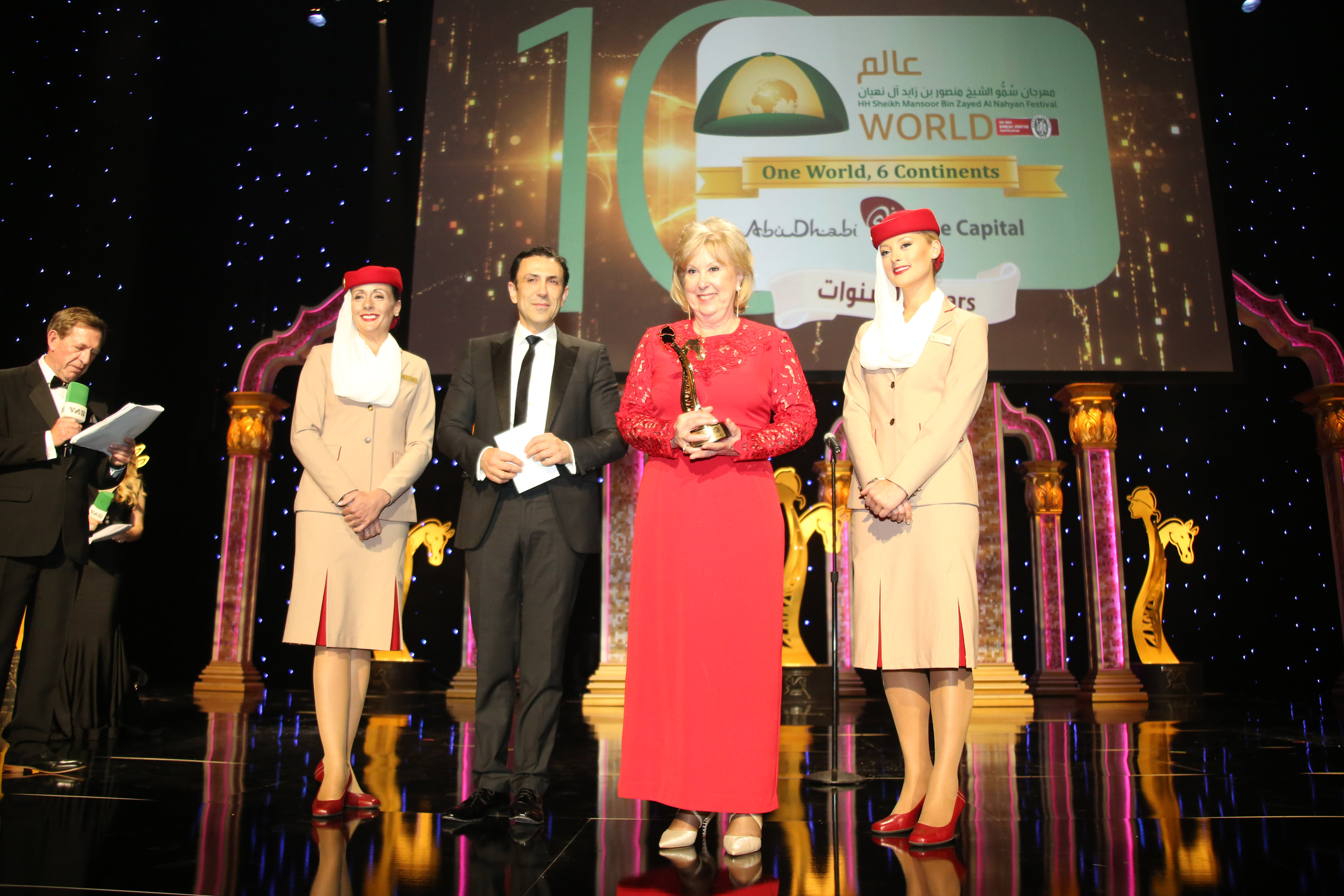 A Word From Afac French Excellence Recognised At The Sheikha Fatima Bint Mubarak Darley International Awards Jour De Galop