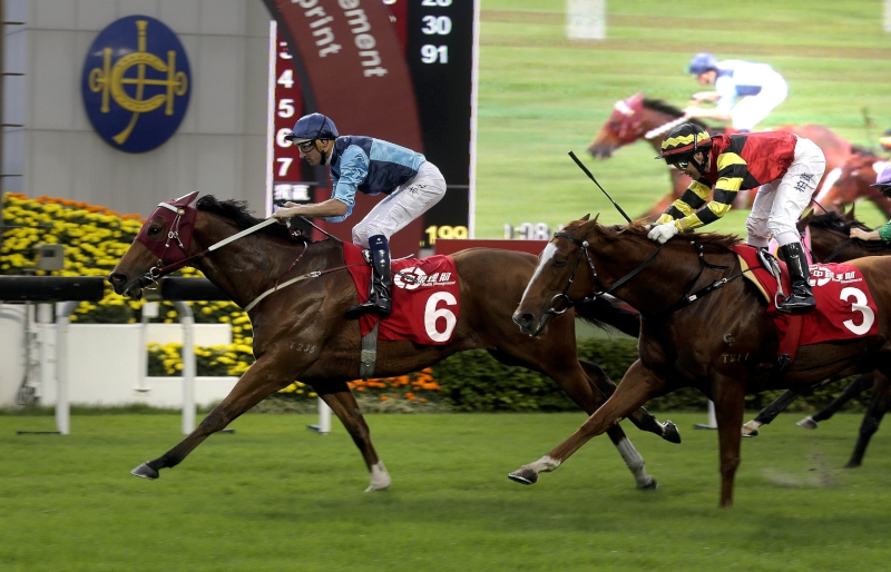 Longines Hong Kong International Races - Able Friend battu pour son retour à la compétition