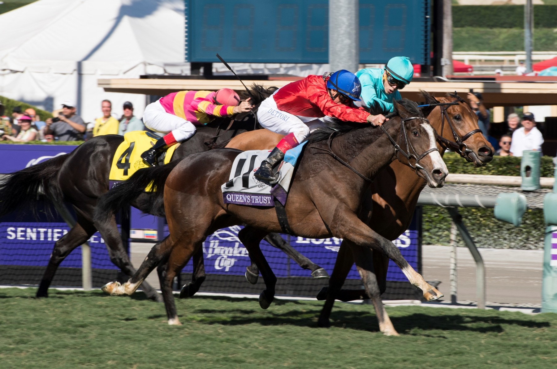 BREEDERS' CUP FILLY AND MARE TURF (GR1) - Queen's Trust enfin couronnée