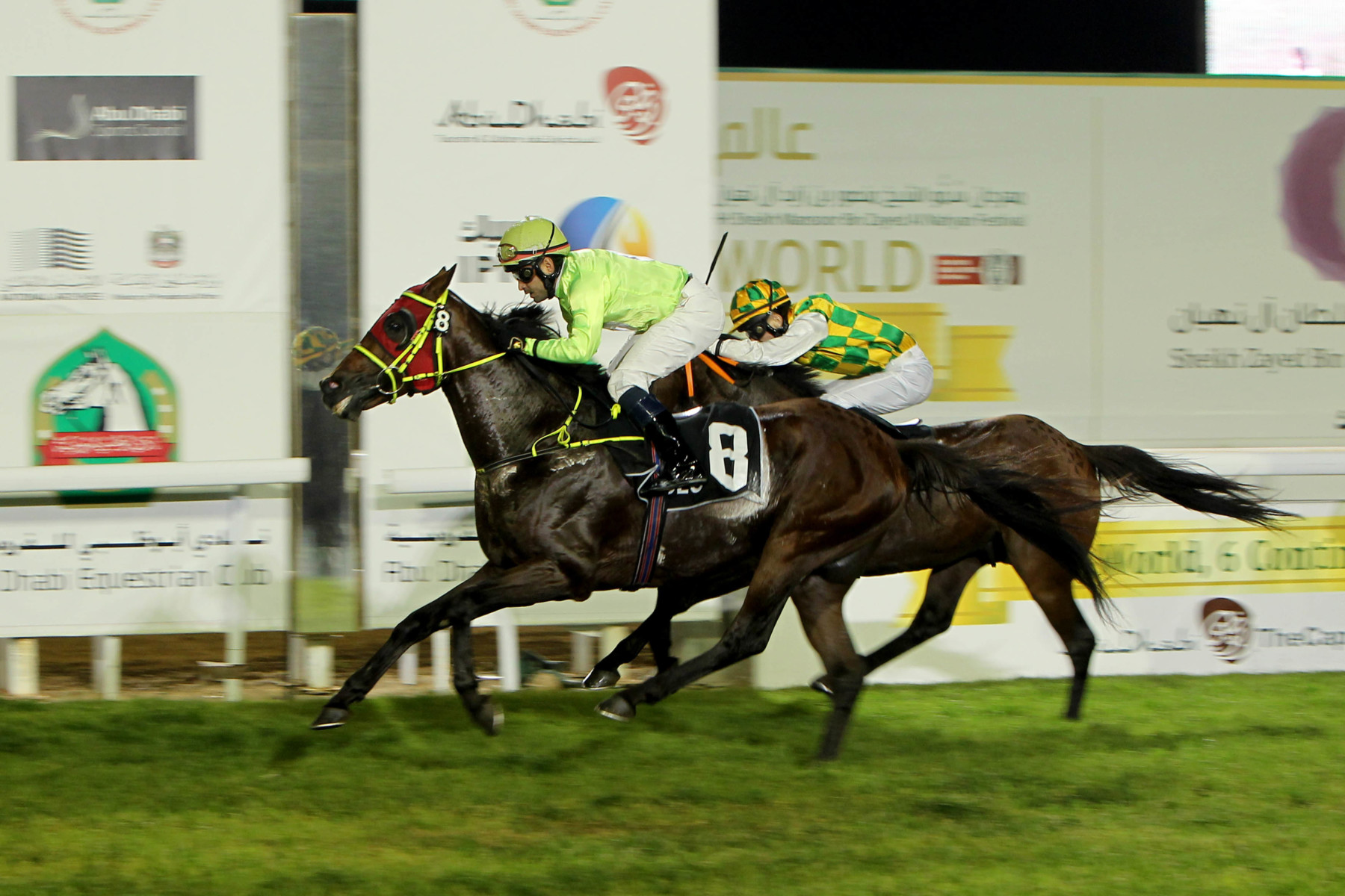 CHEIKH ZAYED BIN SULTAN AL NAHYAN CUP (EX-NATIONAL DAY CUP) (GR3 PA) - Sharaf Al Reef surprend et remporte son premier Groupe