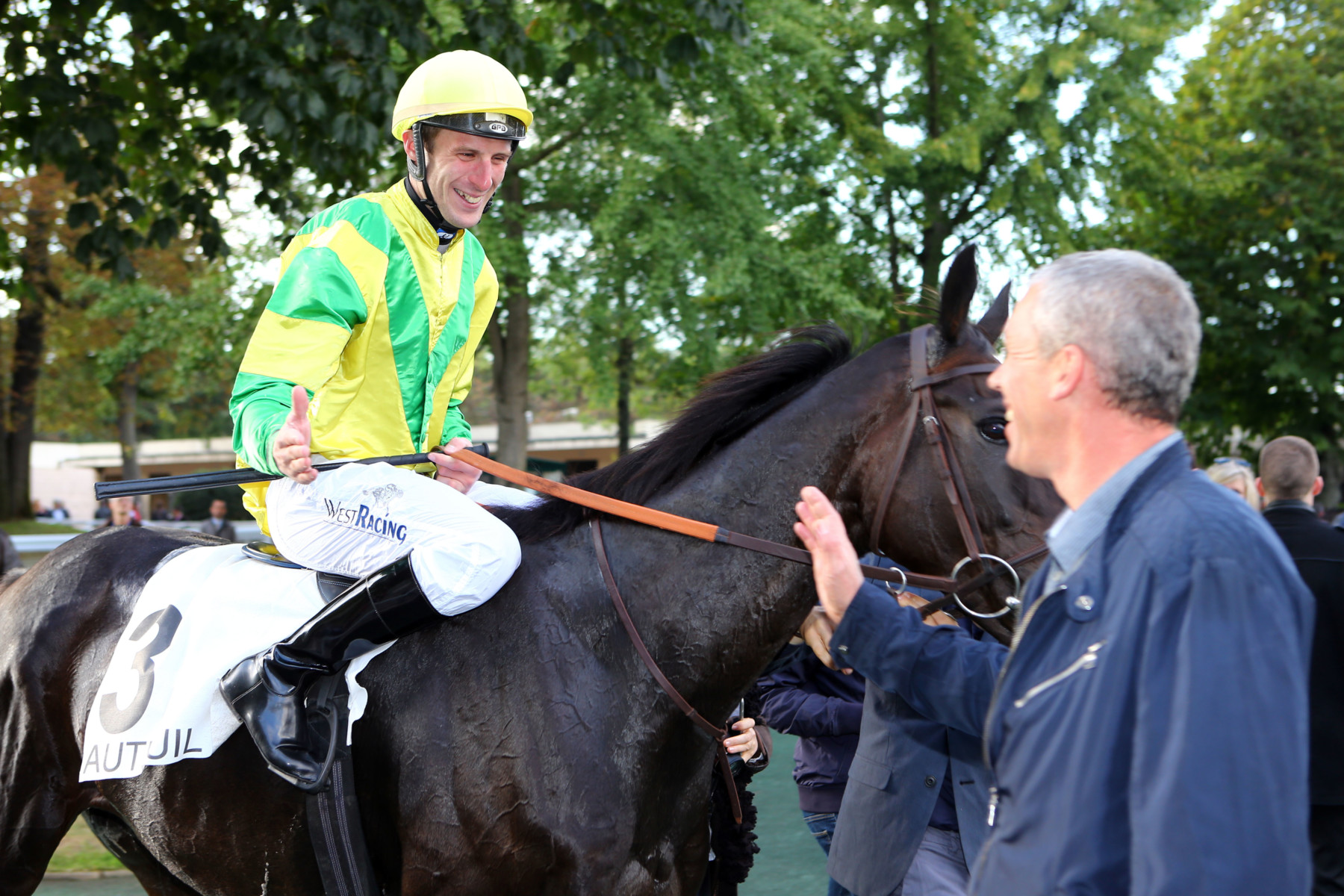 Thomas Beaurain, un jockey en pleine ascension