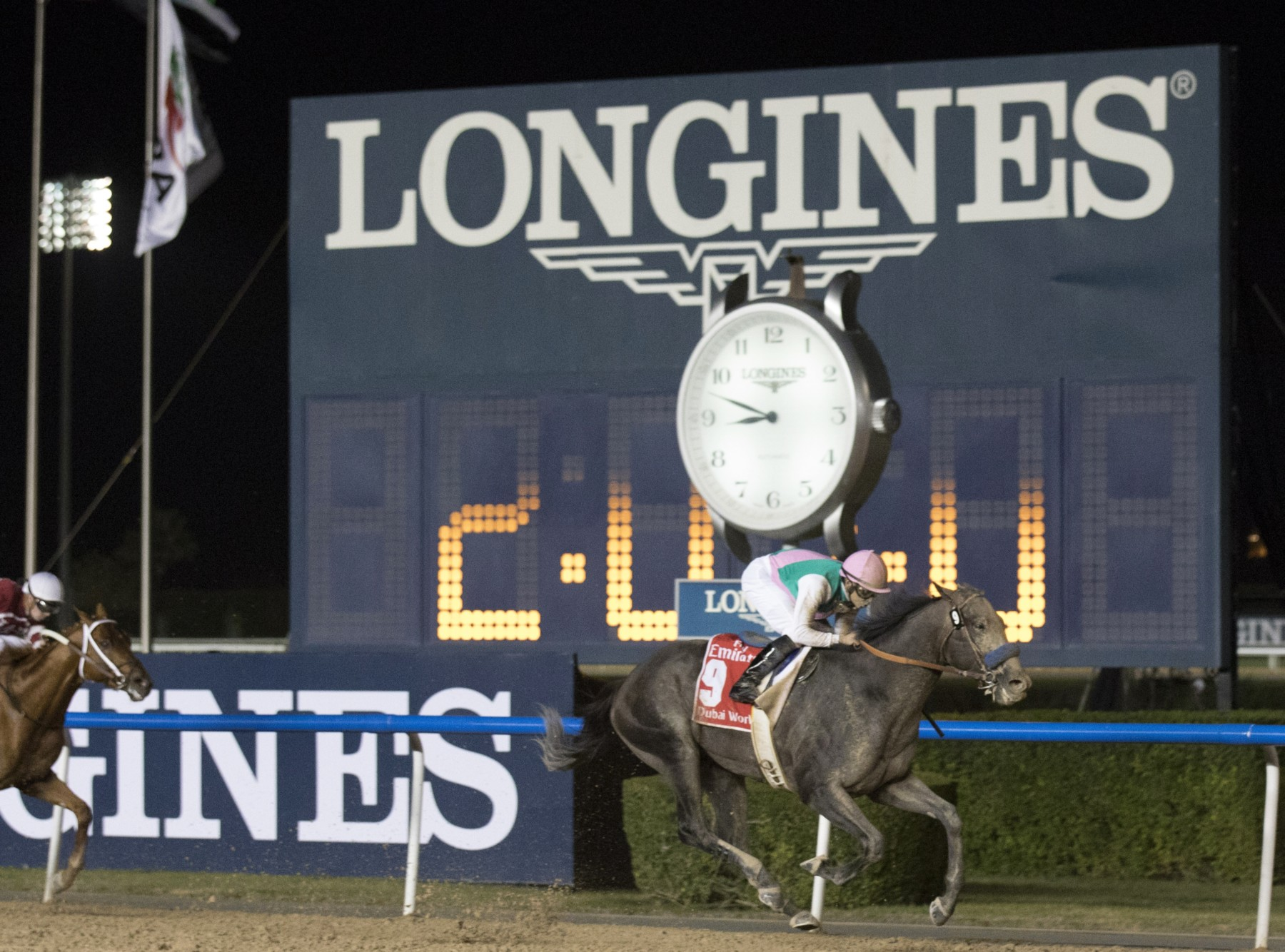 La cérémonie des Longines World's Best Racehorse et Longines World's Best Horse sera diffusée en live streaming