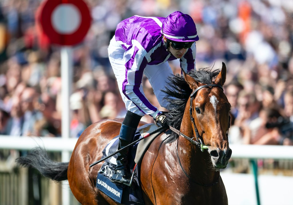 Derby d'Epsom : il pleut sur les chances de Saxon Warrior