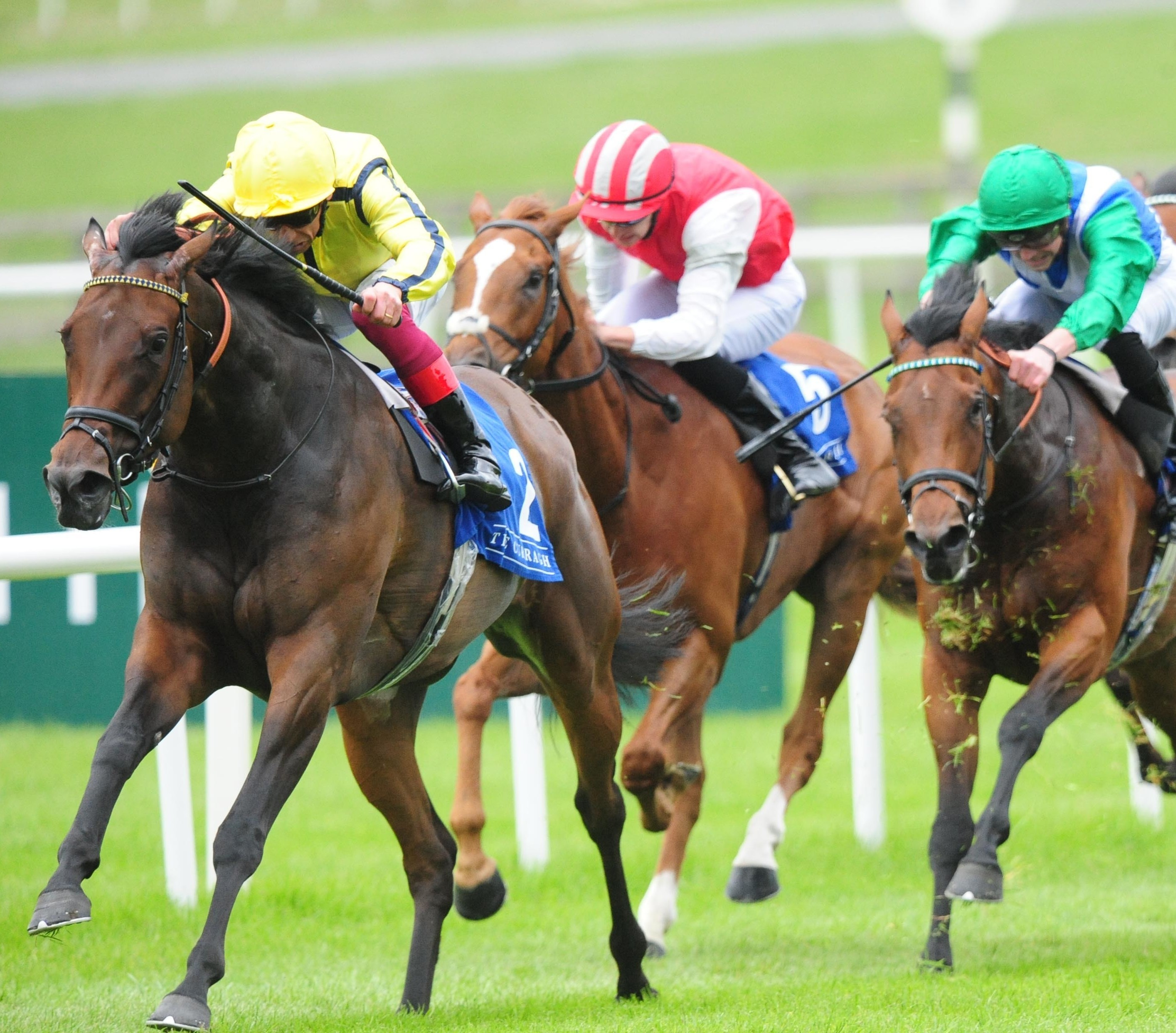 LANWADES STUD STAKES (GR2) - Beshaayir console Dettori