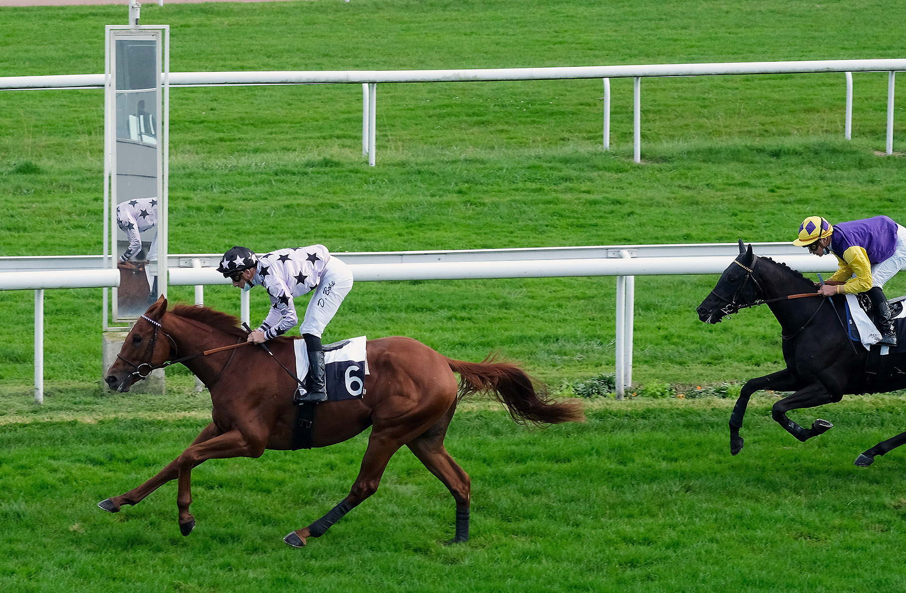Prix Philippe du Vivier (Maiden) : Born the Same Day, la 100e de Ludovic Gadbin