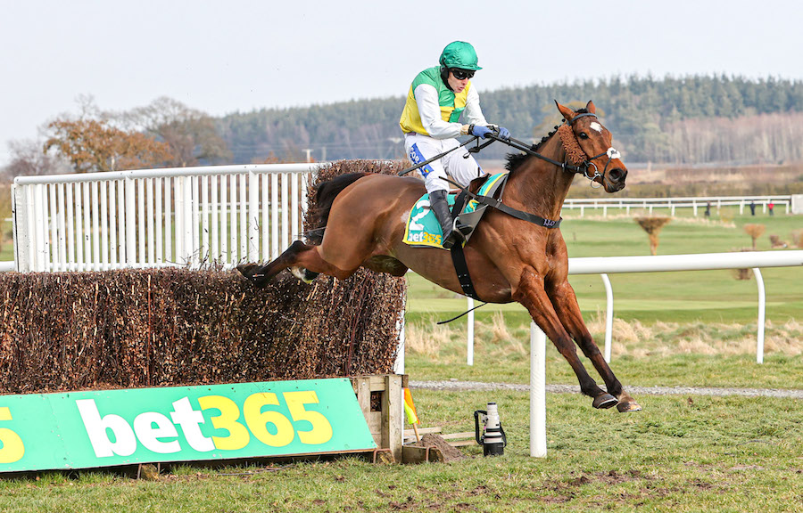 Premier Chase (L) : Cloth Cap confirme sa position de favori du Grand National