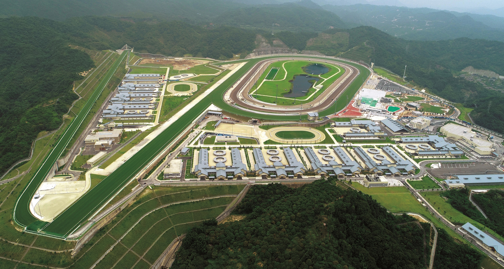 INTERNATIONAL - Conghua, le pari sur l'avenir du Hong Kong Jockey Club