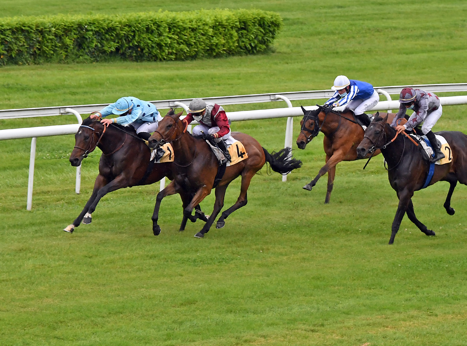 164e Derby du Midi (L) : Fantastic Spirit gagne son ticket pour le Jockey Club