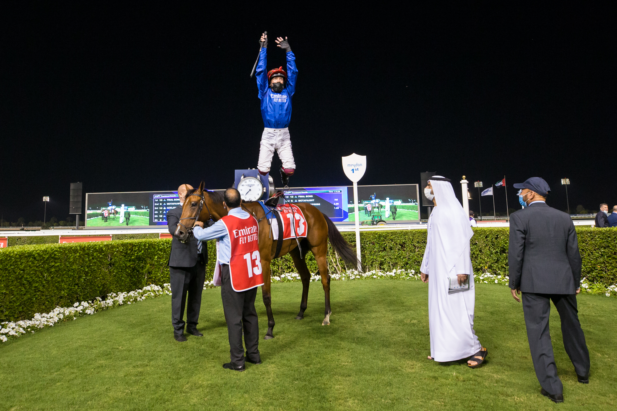 Nad Al Sheba Turf Sprint (Gr3) : Final Song tient enfin son Groupe