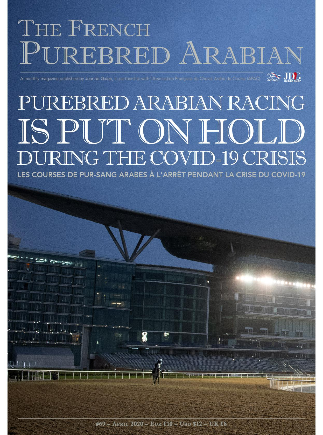 #69 : Purebred Arabian racing is put on hold during the Covid-19 crisis