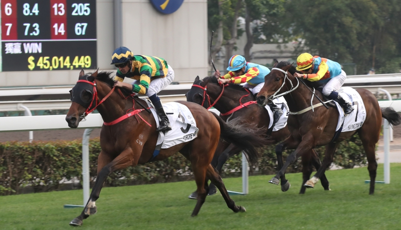 HONG KONG CLASSIC MILE - Frankie Lor, comme Jean-Michel Bazire