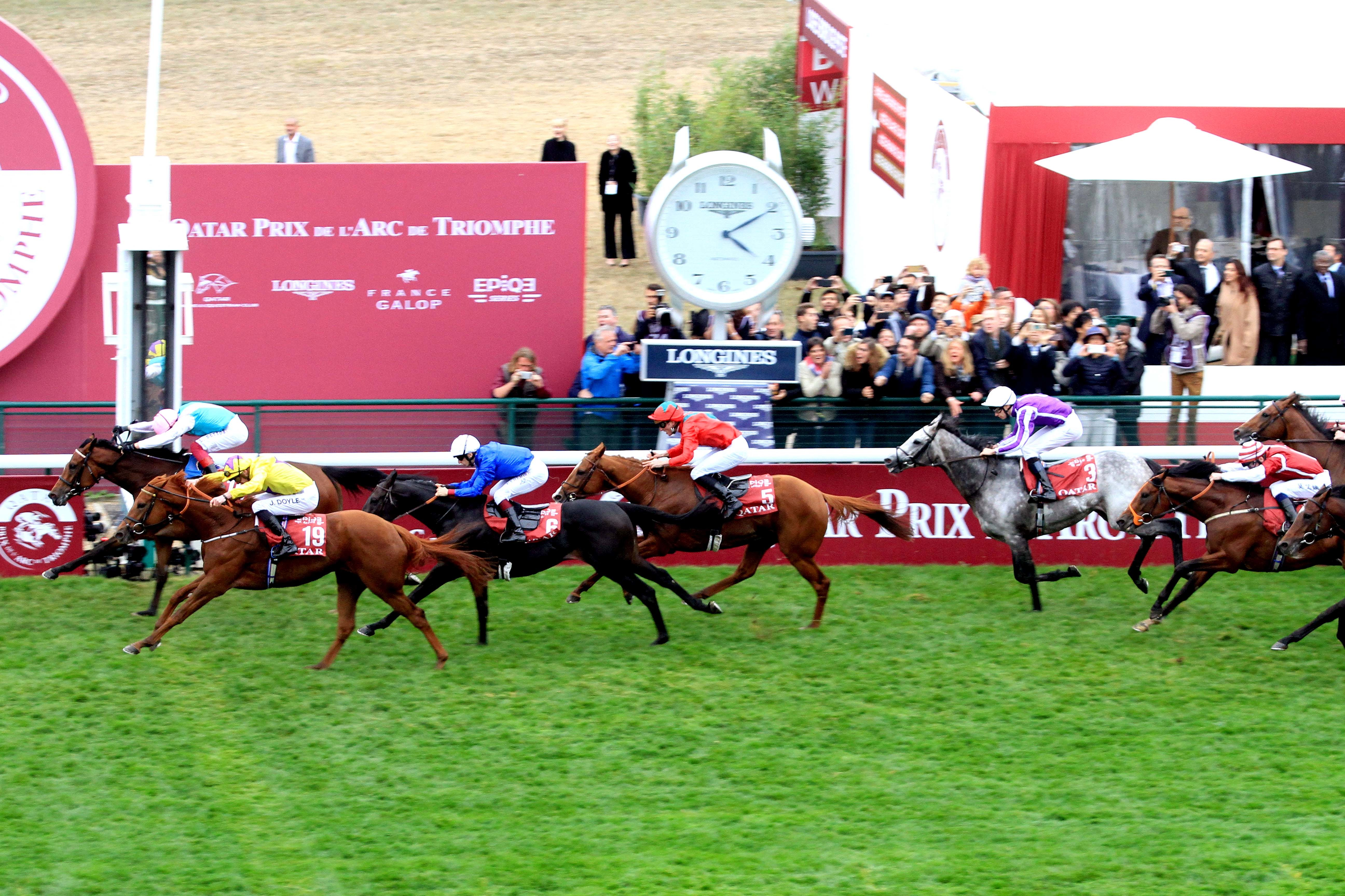 Les handicapeurs de France Galop expliquent le rating de l'Arc