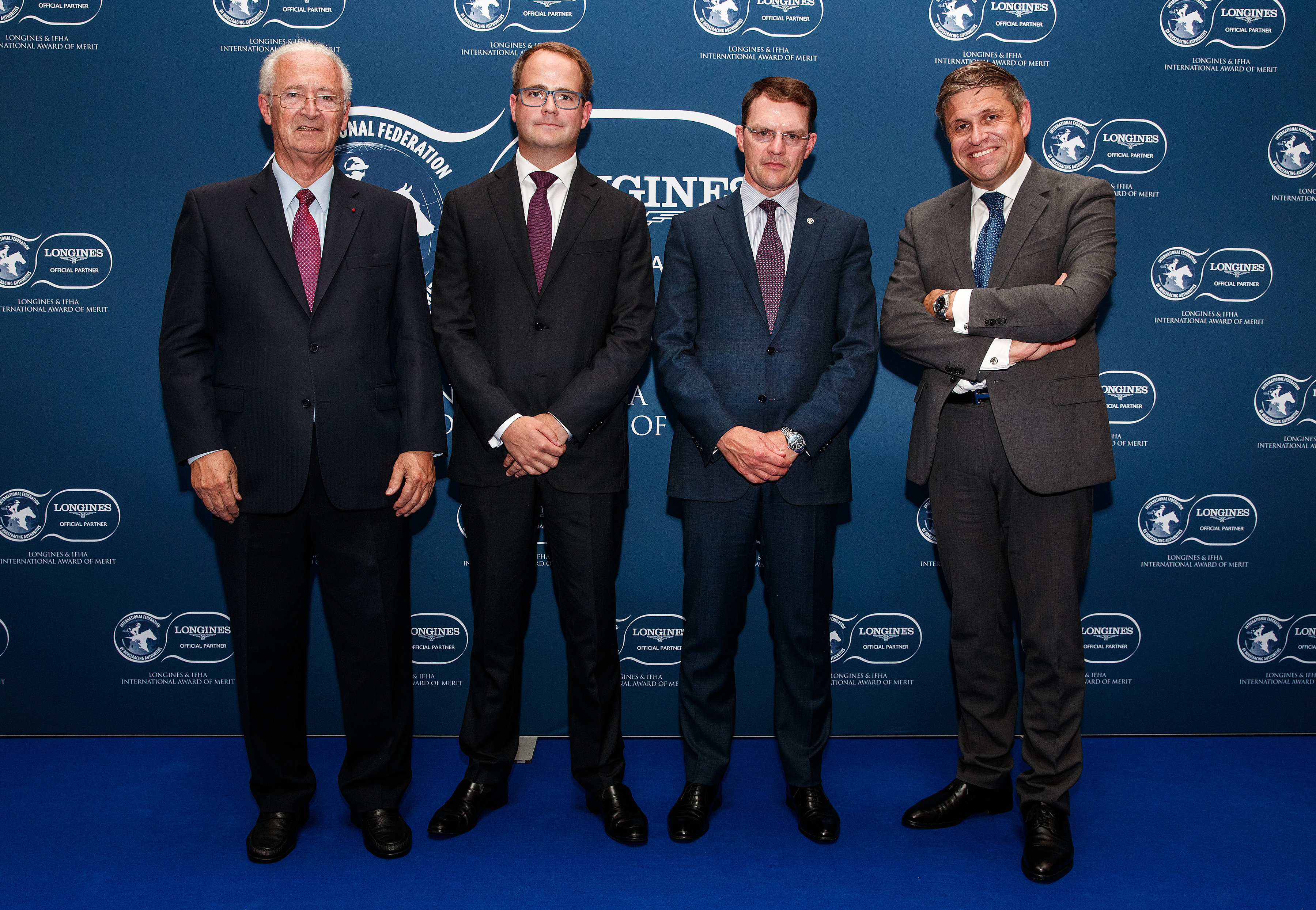 La famille Magnier et Aidan O'Brien reçoivent le Longines and IFHA International Award of Merit 2018