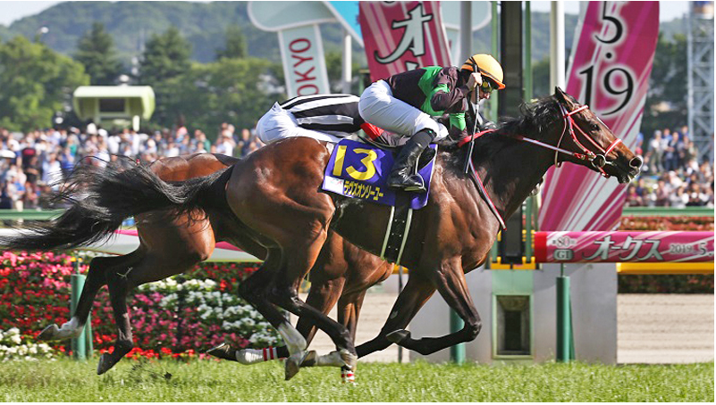 YUSHUN HIMBA - OAKS (GR1) - Loves Only You… et encore Miesque