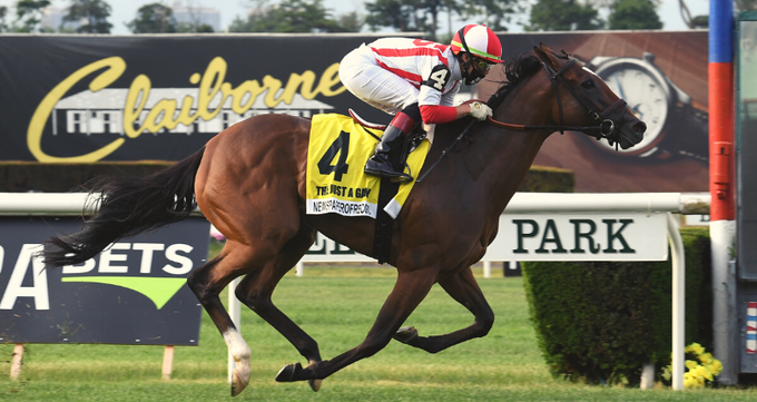 Just a Game Stakes (Gr1) : Newspaperofrecord dans une course sur mesure