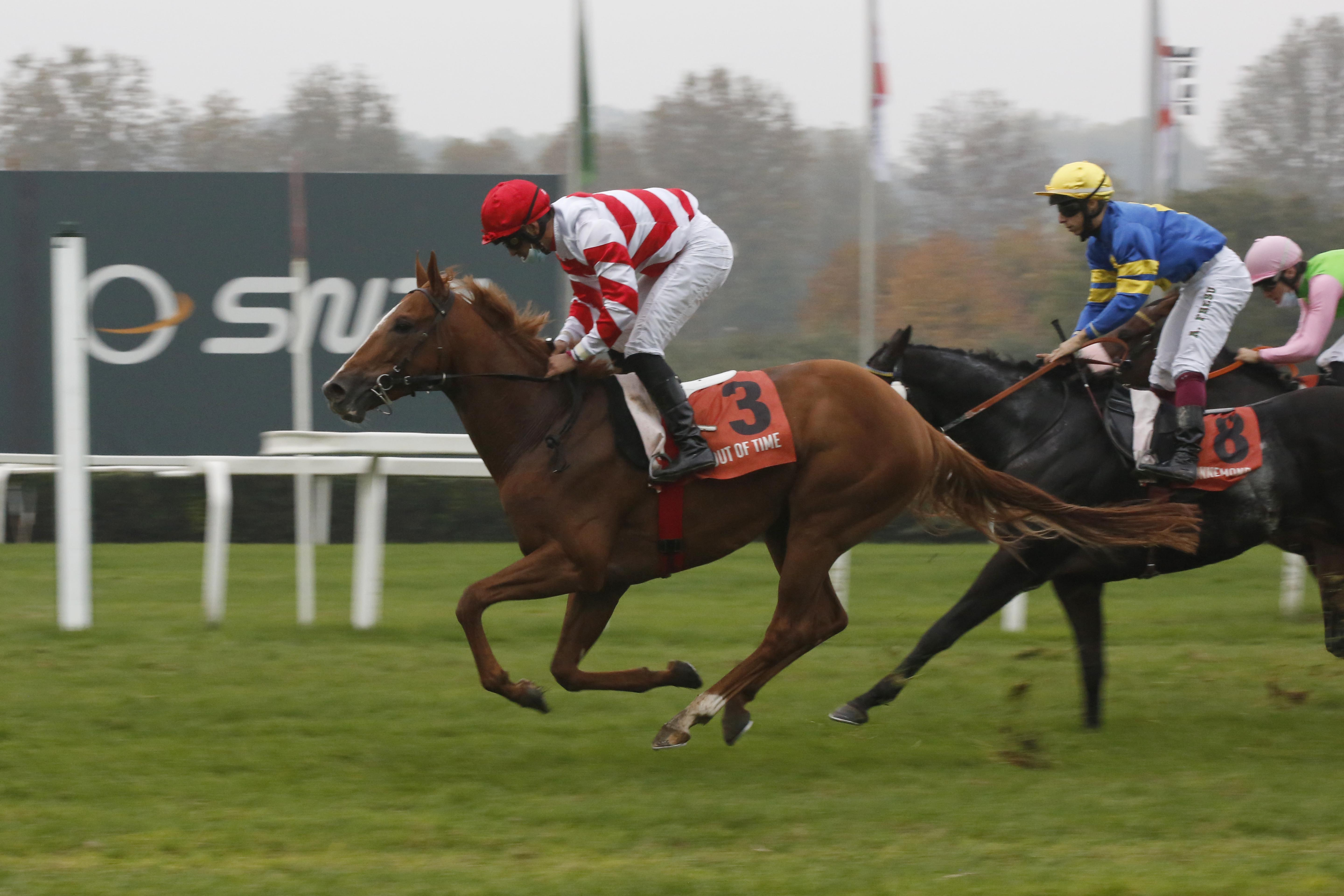 Premio Vittorio di Capua (Gr2) : Out of Time au bon moment