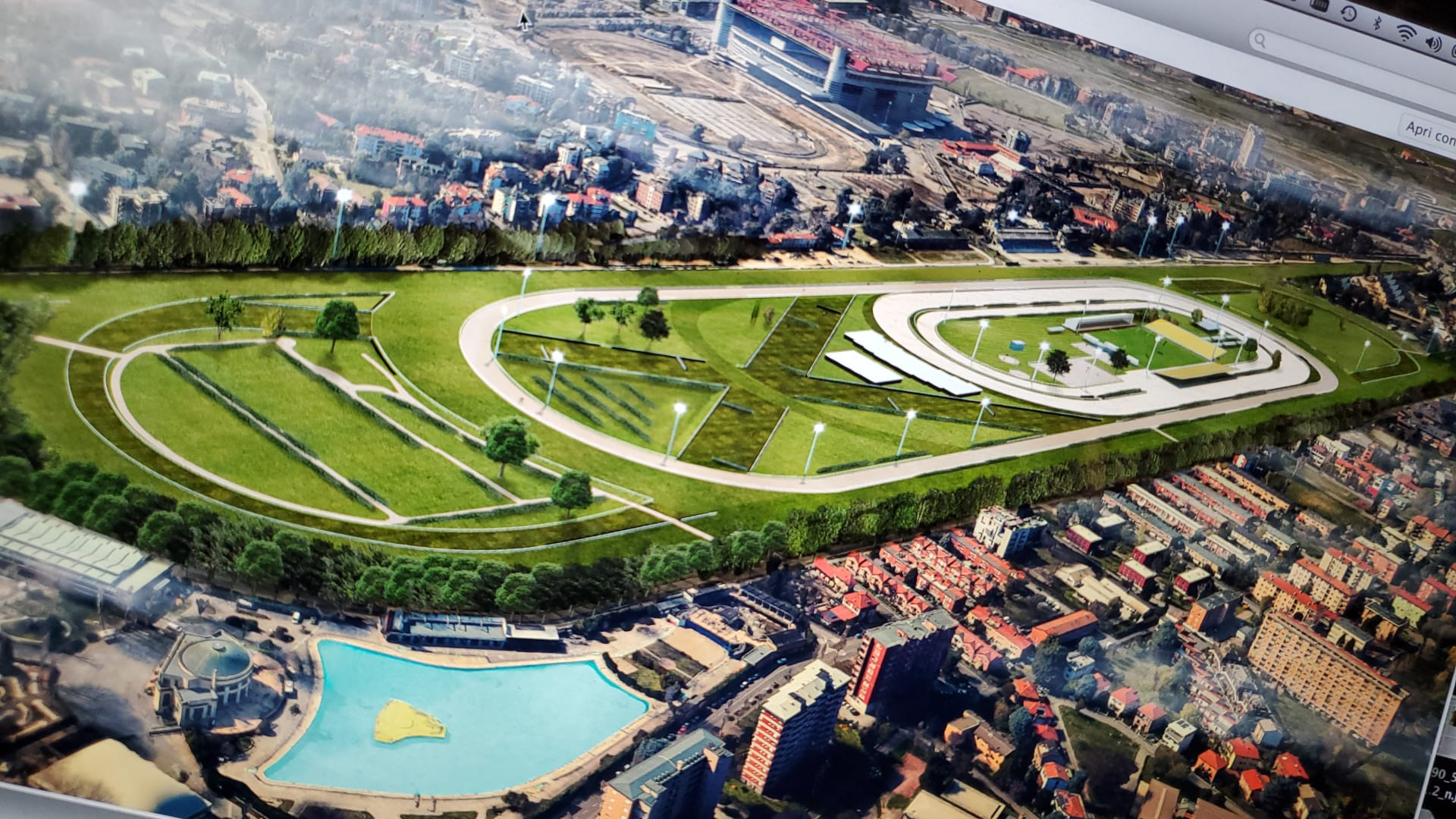 San Siro 4.0 : plat, trot, obstacle et concours