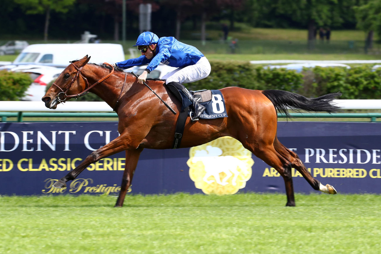 Persian King en attraction mercredi à Chantilly
