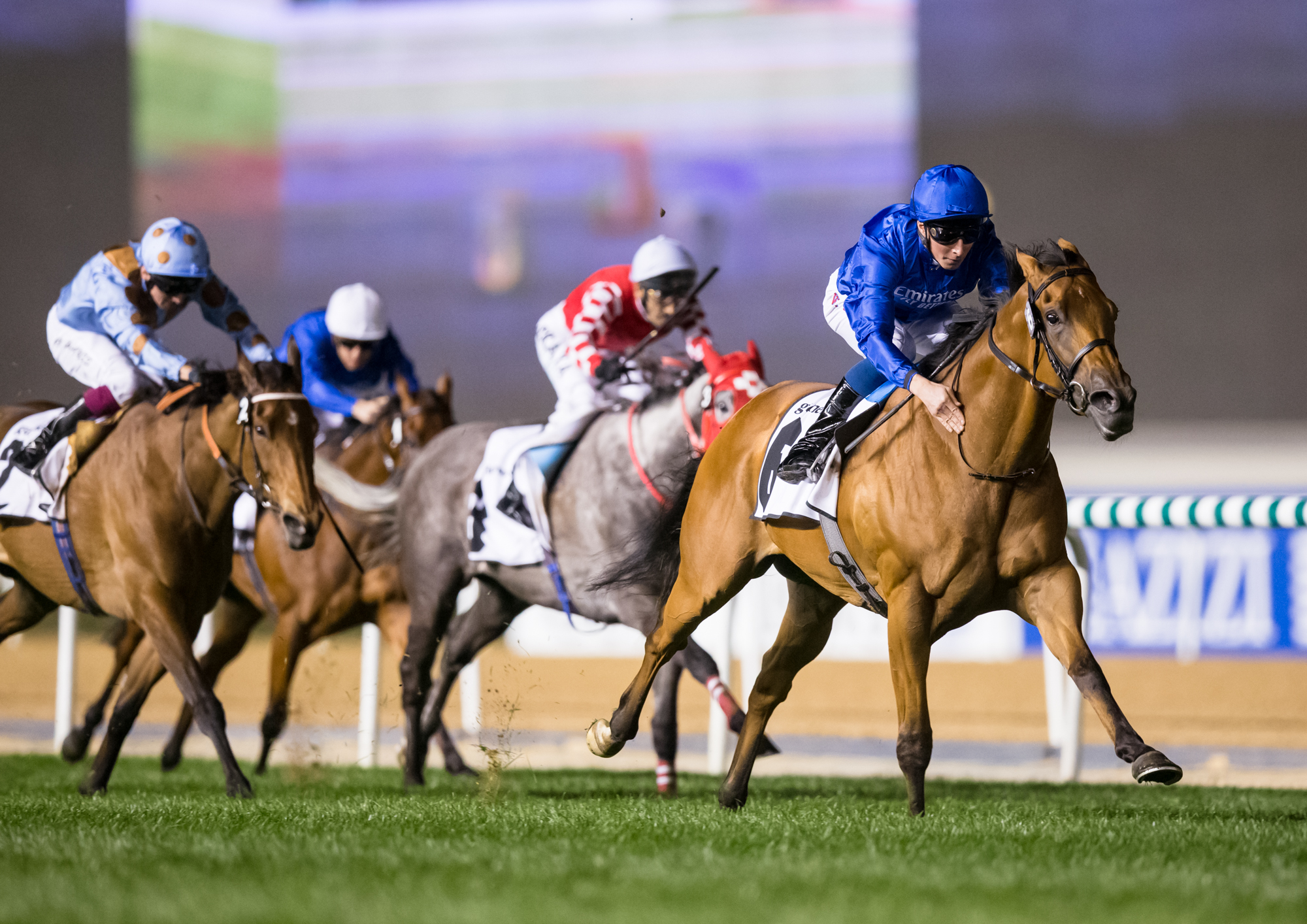 BALANCHINE STAKES (GR2) - Poetic Charm ne rate pas le penalty