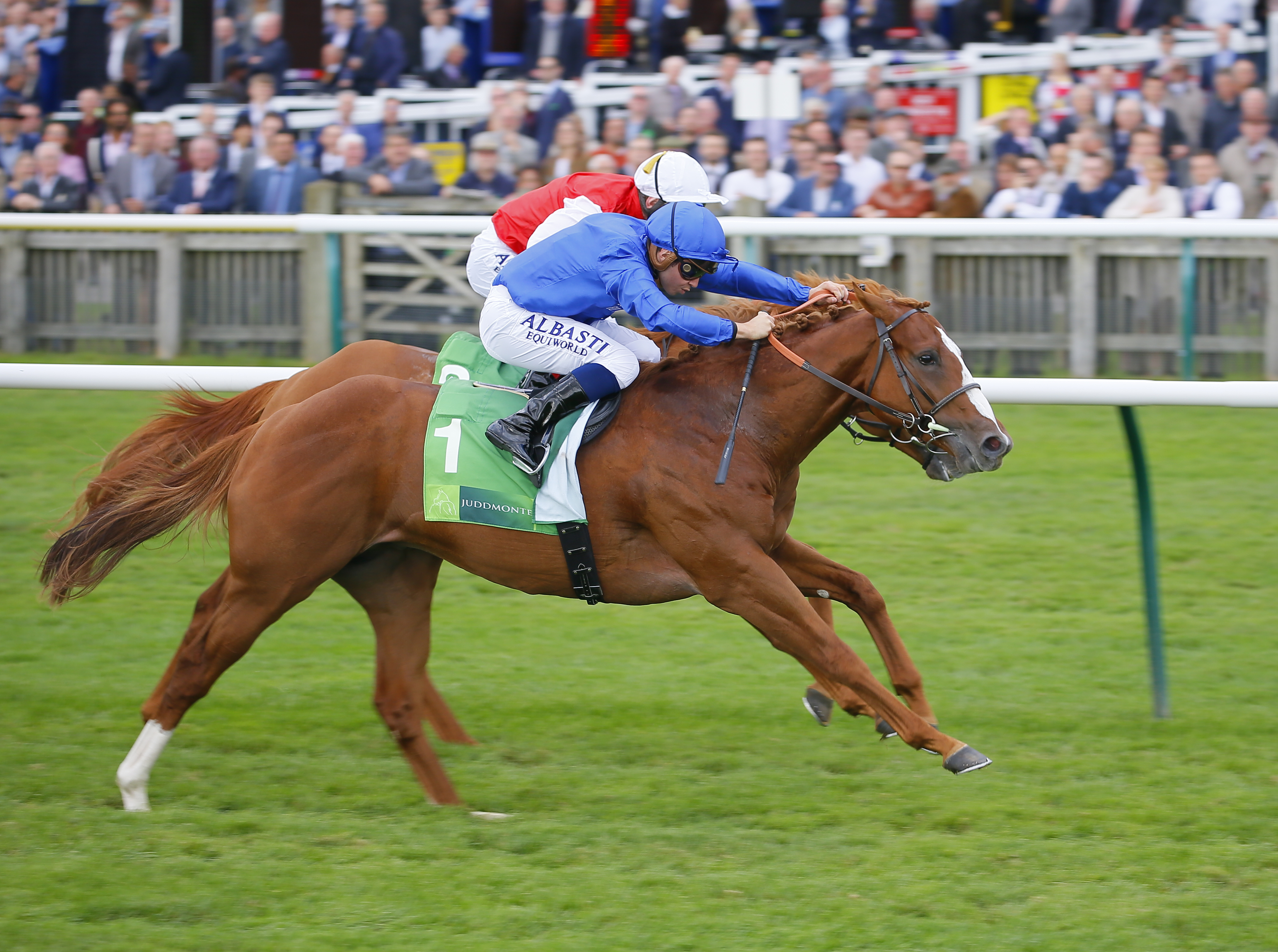 JUDDMONTE MIDDLE PARK STAKES (Gr1) - Attention Pinaturbo, Earthlight arrive
