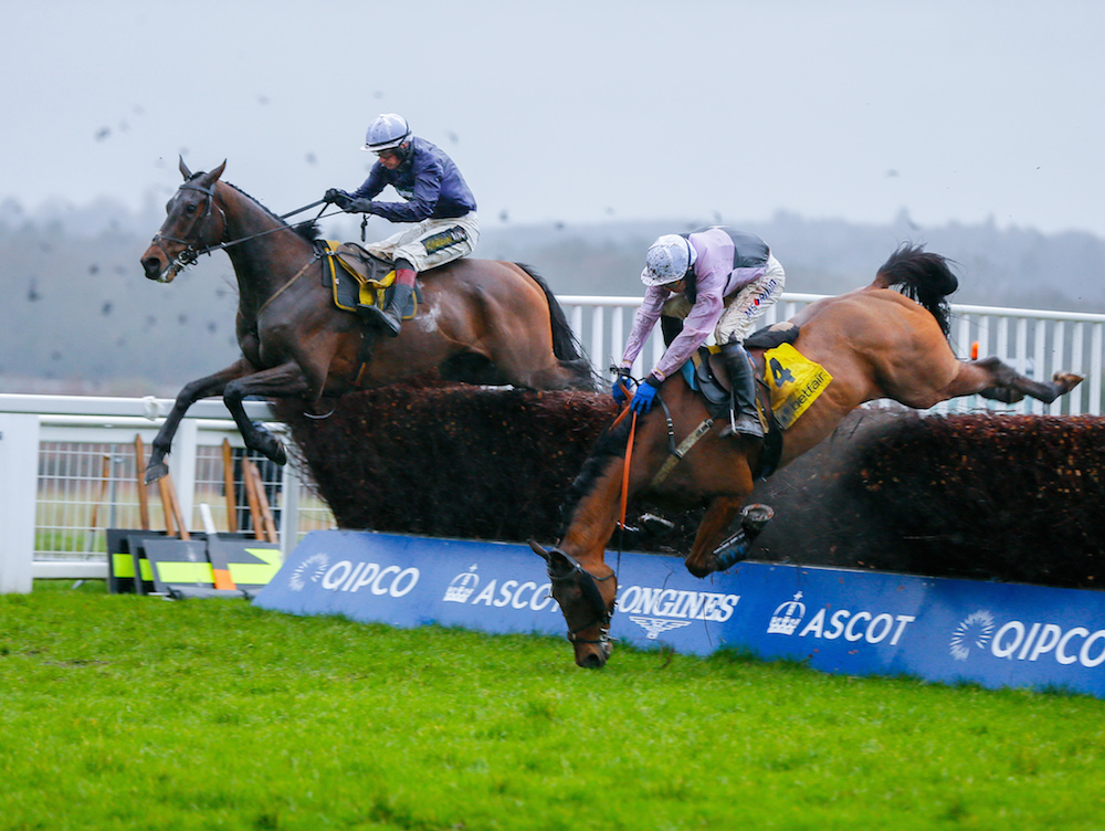"ASCOT CHASE (Gr1) - Riders Onthe Storm brille, les ""FR"" chutent"