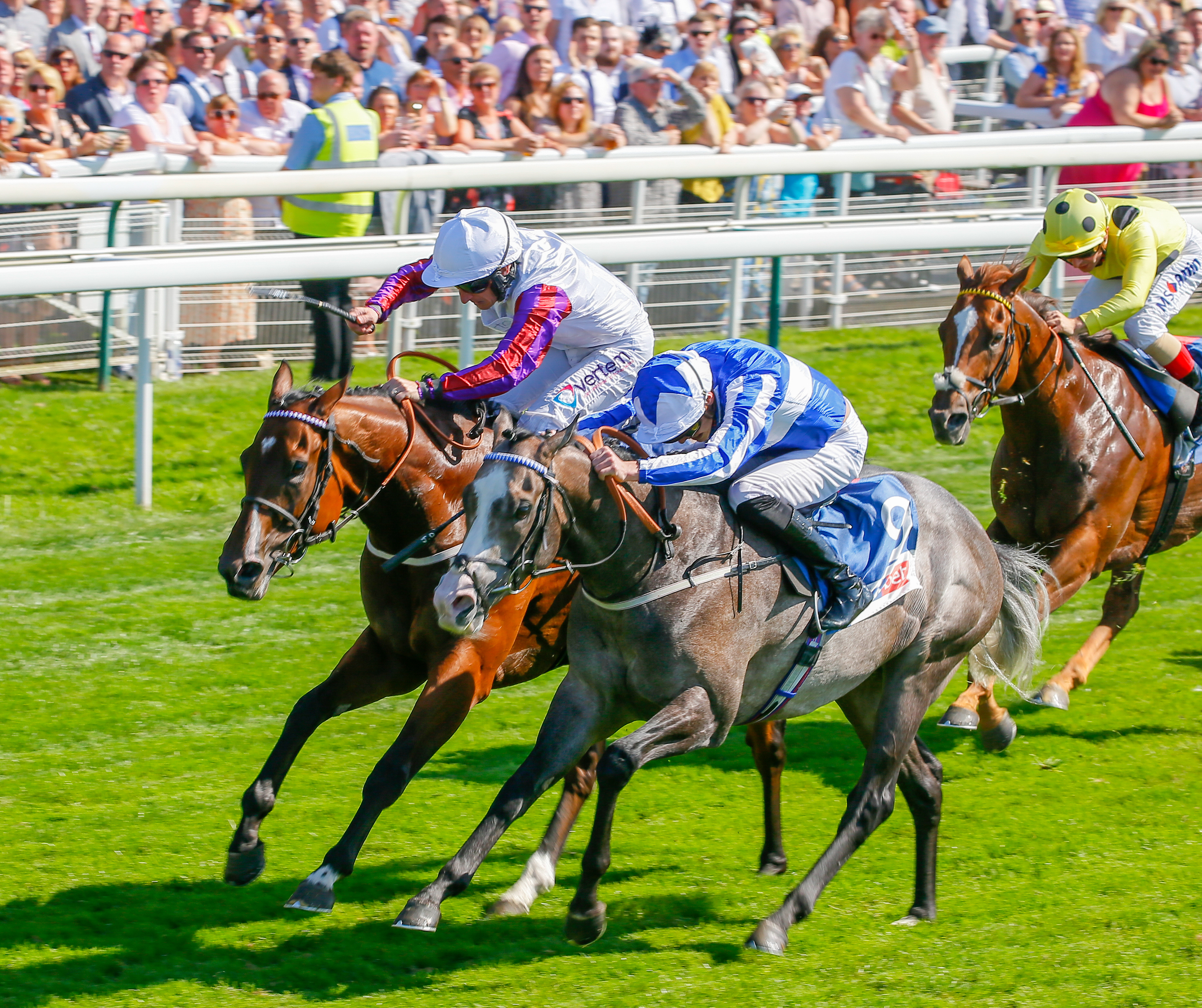 CITY OF YORK STAKES (GR2) - Shine So Bright s'offre Laurens et un ticket pour le Prix de la Forêt
