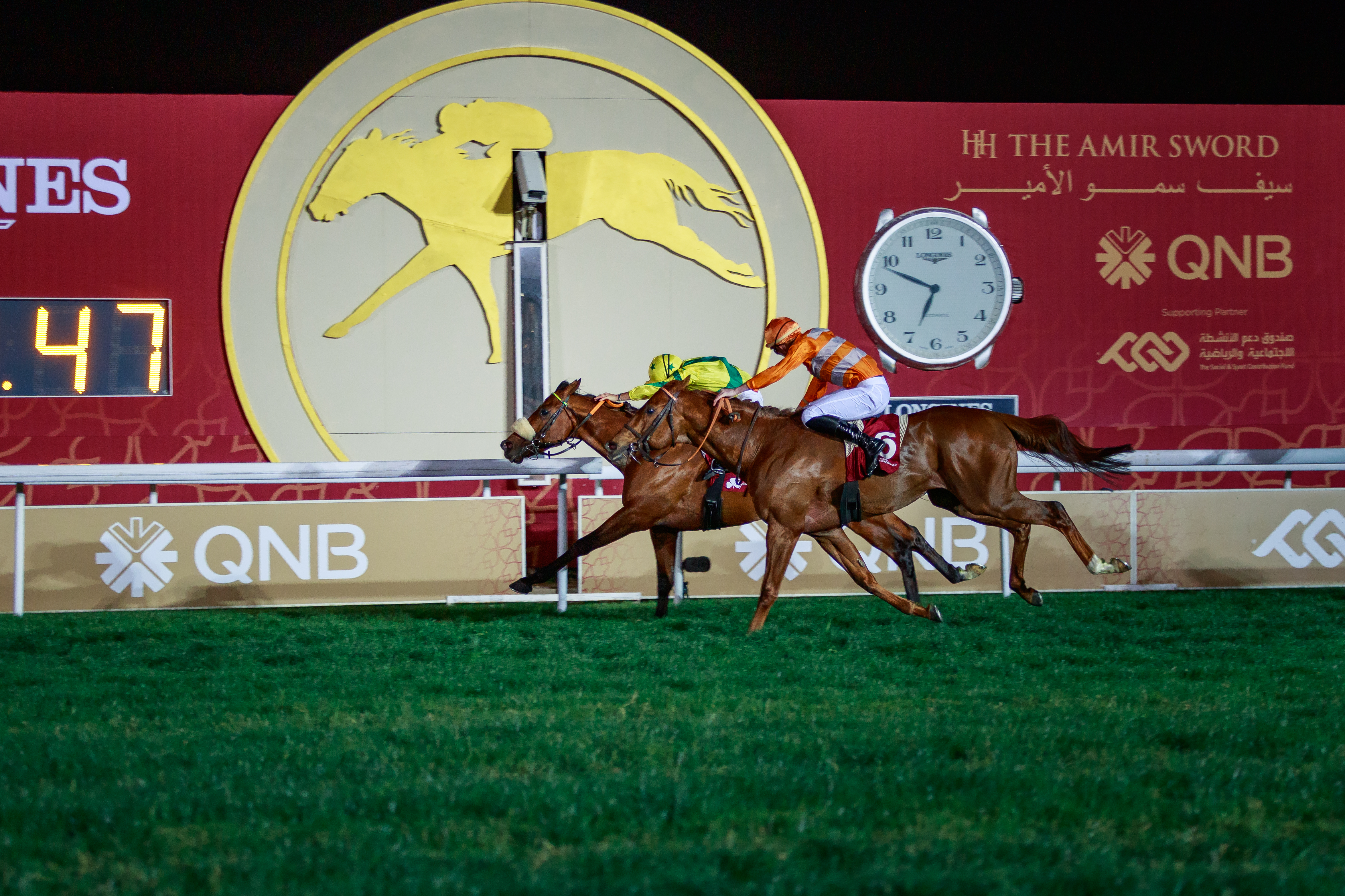 IRISH THOROUGHBRED MARKETING CUP (Gr2 local) - Les Marseillais dominent à Doha