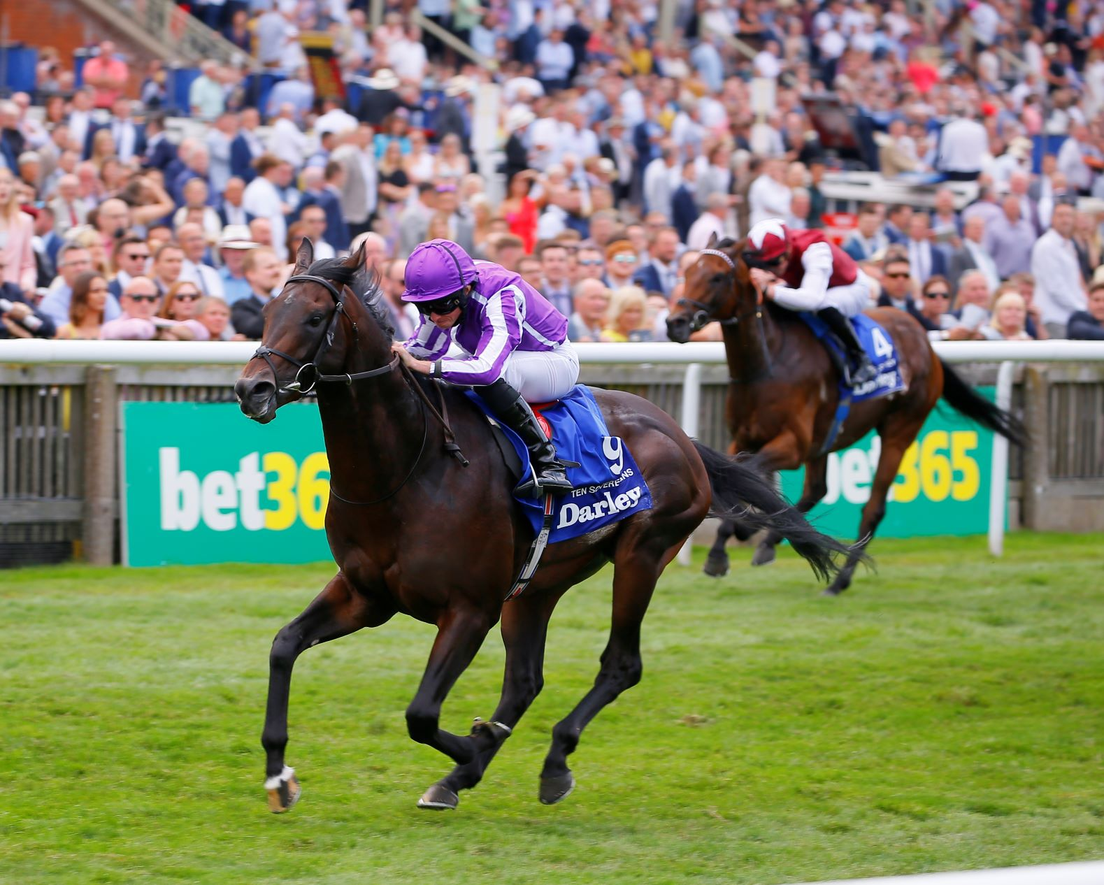 Ryan Moore en Australie avec Ten Sovereigns