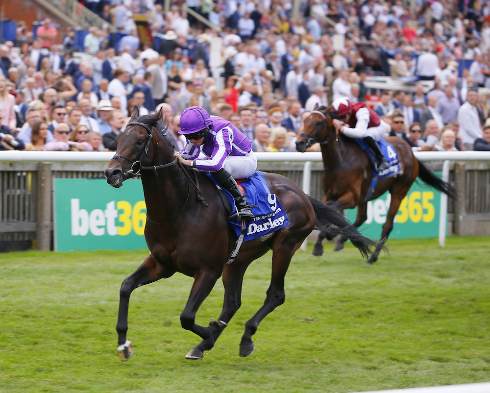 Ten Sovereigns entre la Sprint Cup et l'Australie